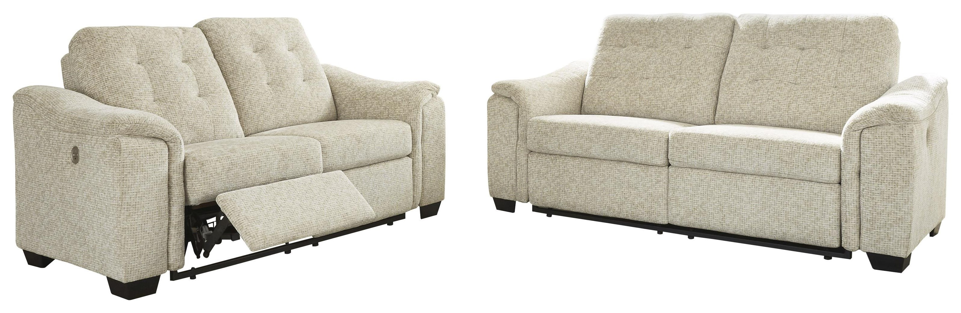 Beaconfield 2 Piece Power Reclining Living Room Set by Ashley Furniture at Sam Levitz Furniture