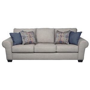 Sofa Sleeper in Jute Fabric