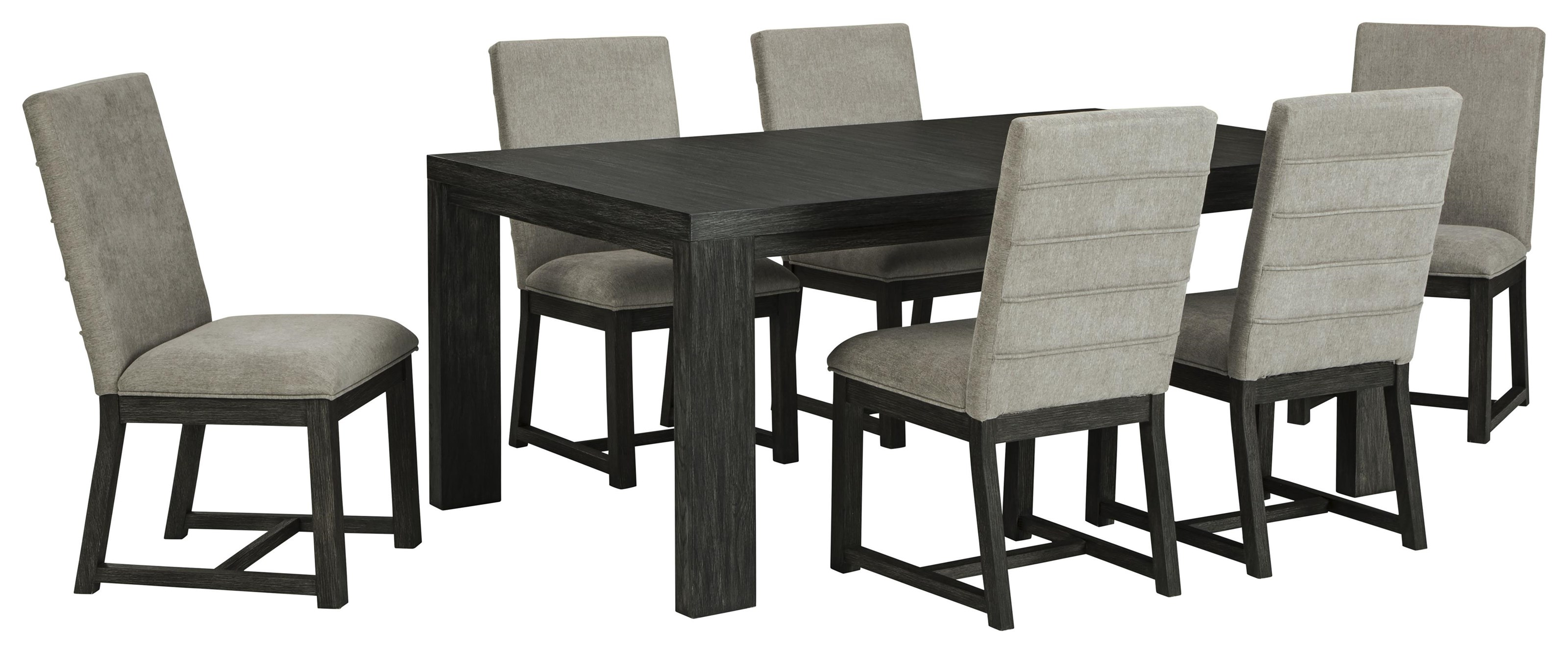 Bellvern 7 Piece Dining Room Set by Ashley Furniture at Sam Levitz Furniture