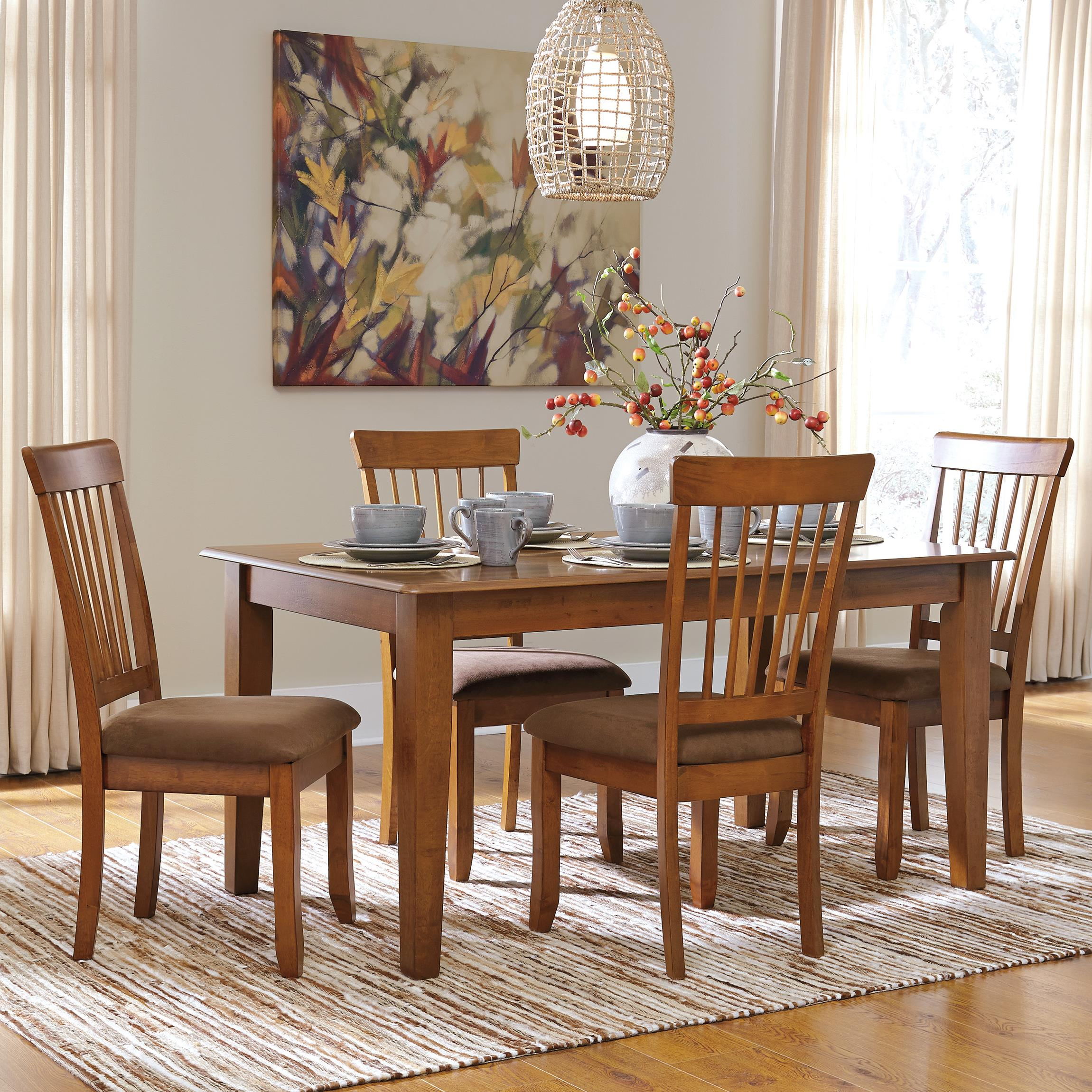 Berringer 5-Piece 36x60 Table & Chair Set by Ashley Furniture at Standard Furniture