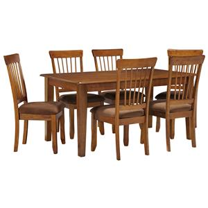 7-Piece 36x60 Table & Chair Set