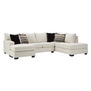 2 Piece Chaise Sectional
