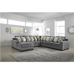 4 Piece Grey Sectional