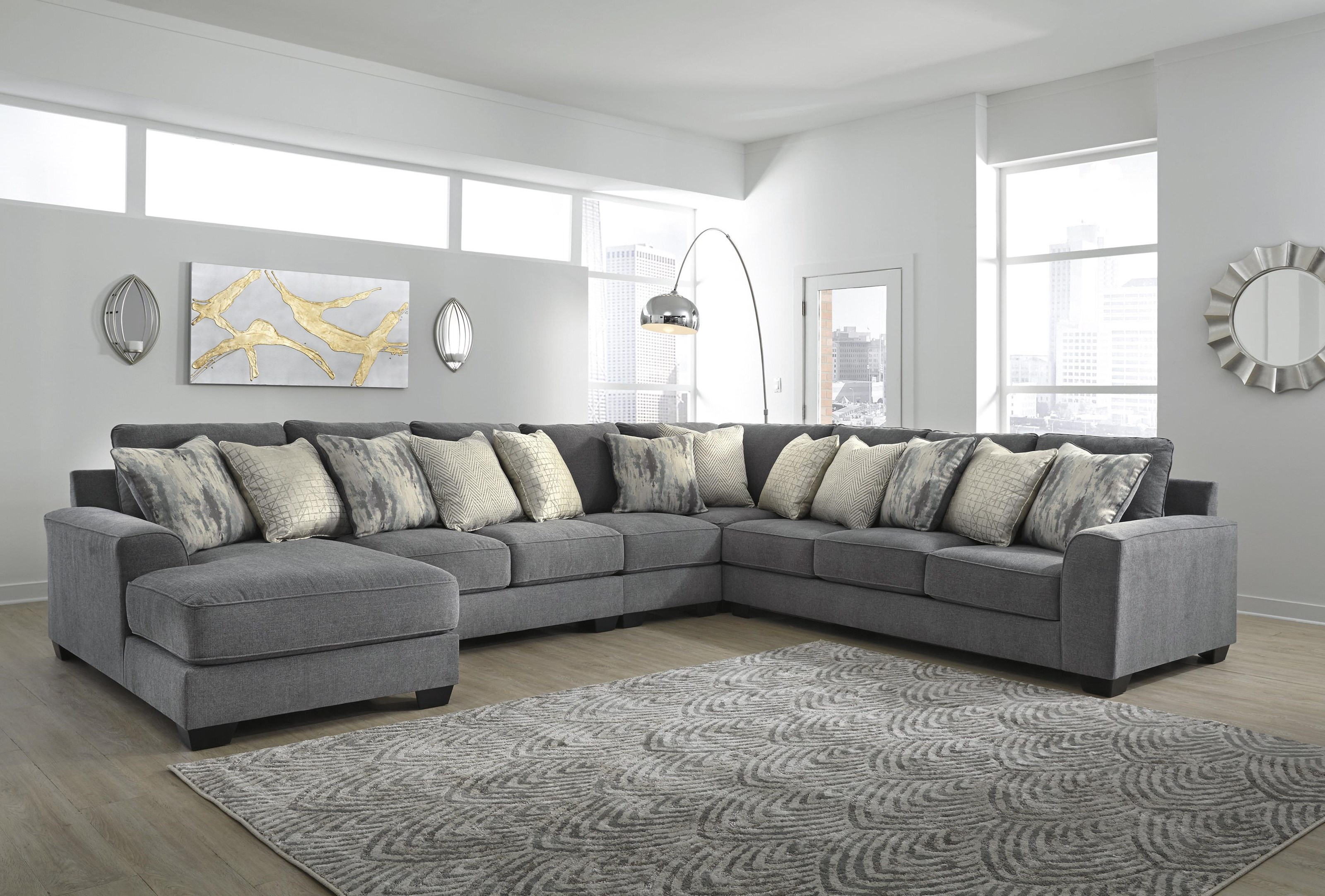 Castano 5 Piece Sectional by Ashley Furniture at Sam Levitz Furniture