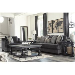 Ink Sofa and Chair Set