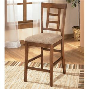 "Ashley Furniture Cross Island 24"" Bar Stool"