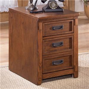 Ashley Furniture Cross Island 2 Drawer Mobile File Cabinet
