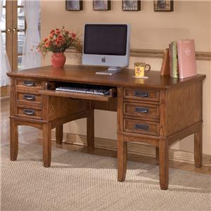 Ashley Furniture Cross Island Leg Desk with Storage