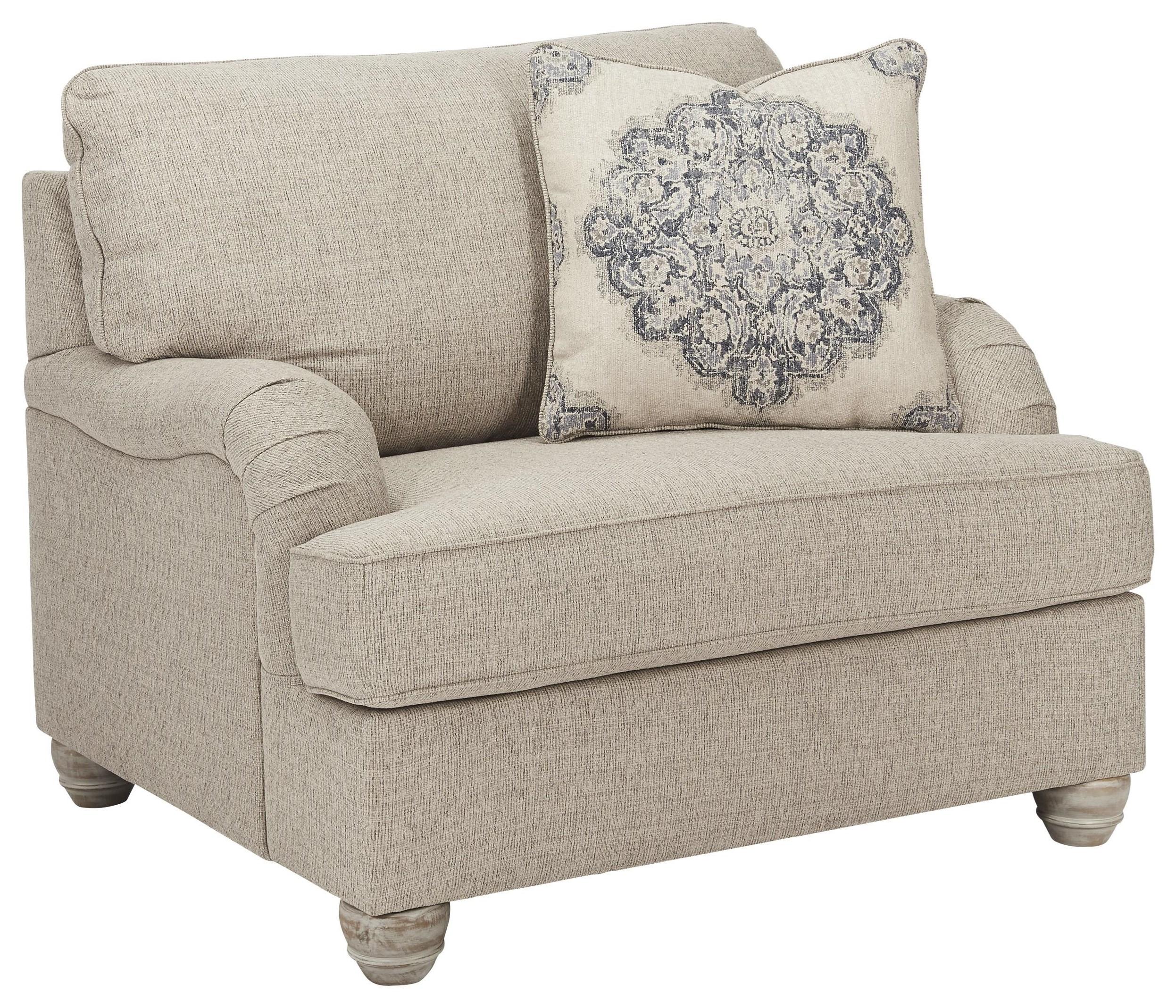 Dandrea Chair and a Half by Ashley Furniture at Sam Levitz Furniture