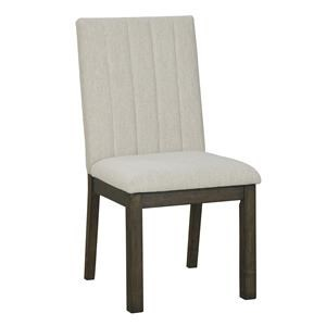Biege Dining Room UPH Side Chair