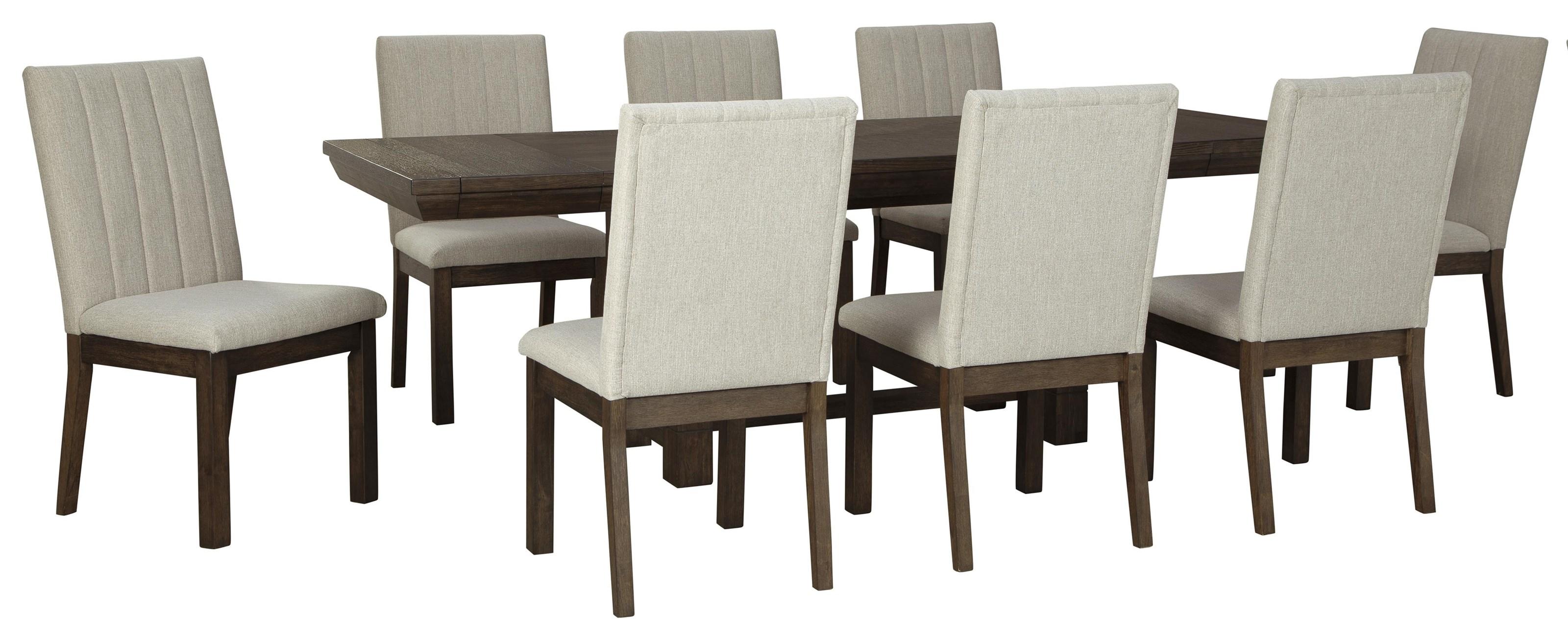 Dellbeck 9 PC Dining Room Set by Ashley Furniture at Sam Levitz Furniture