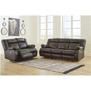2 Piece Reclining Living Room Set