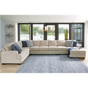 Sepia 5PC Sectional
