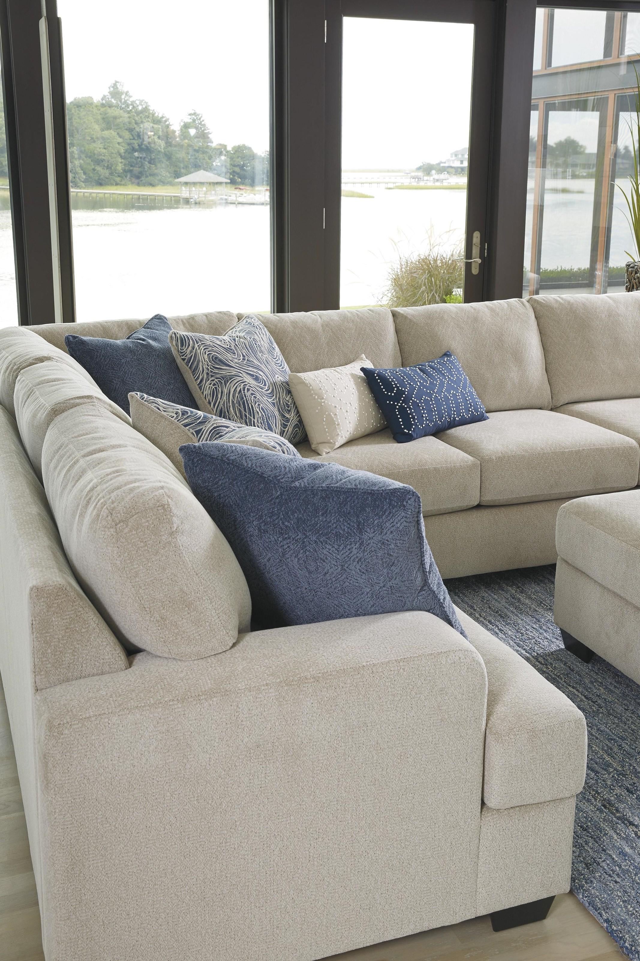Enola 4 Piece Sectional Sofa by Ashley Furniture at Sam Levitz Furniture