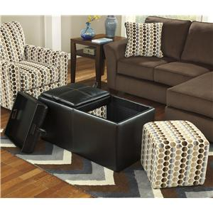 Ashley Furniture Geordie - Cafe Ottoman With Storage
