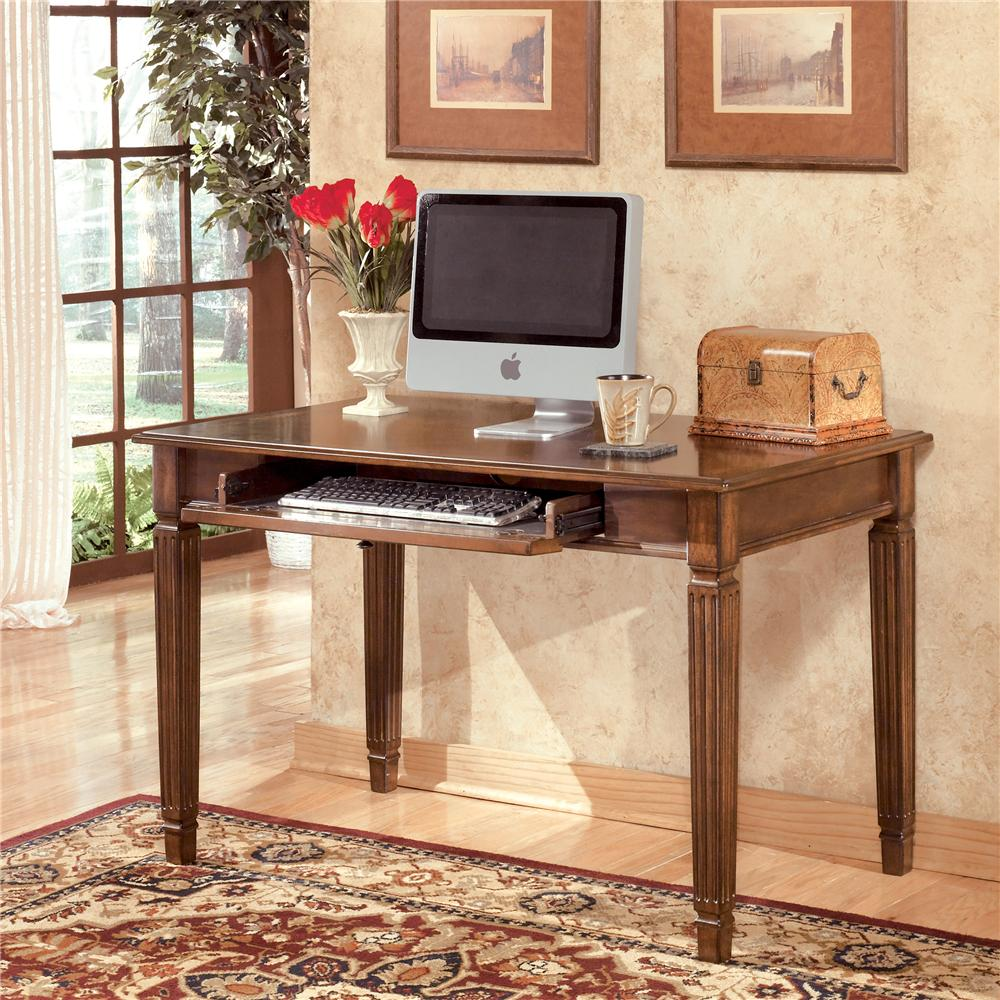 Hamlyn Small Leg Desk by Signature Design by Ashley at Beck's Furniture