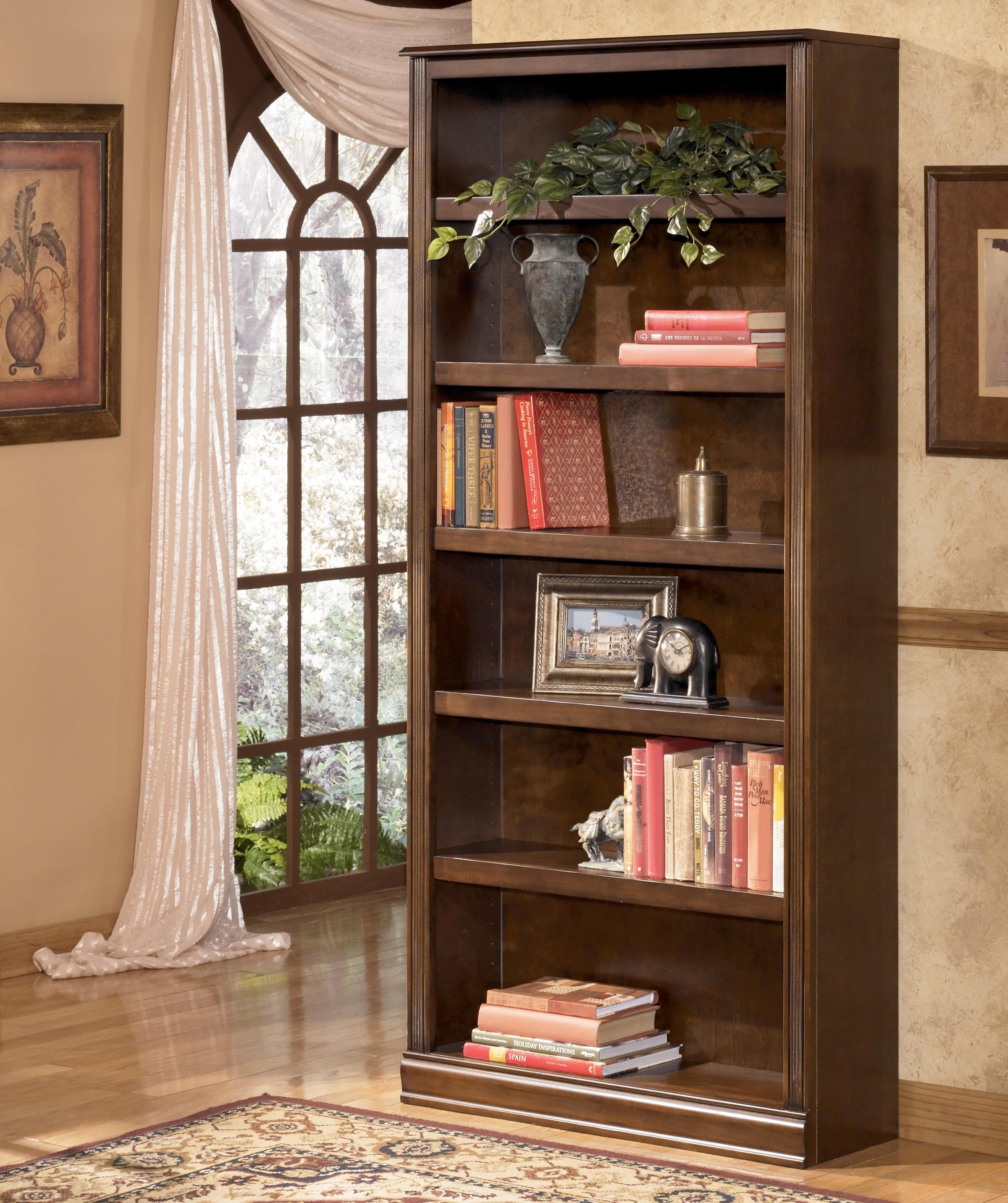 Hamlyn Large Bookcase by Signature Design by Ashley at Darvin Furniture