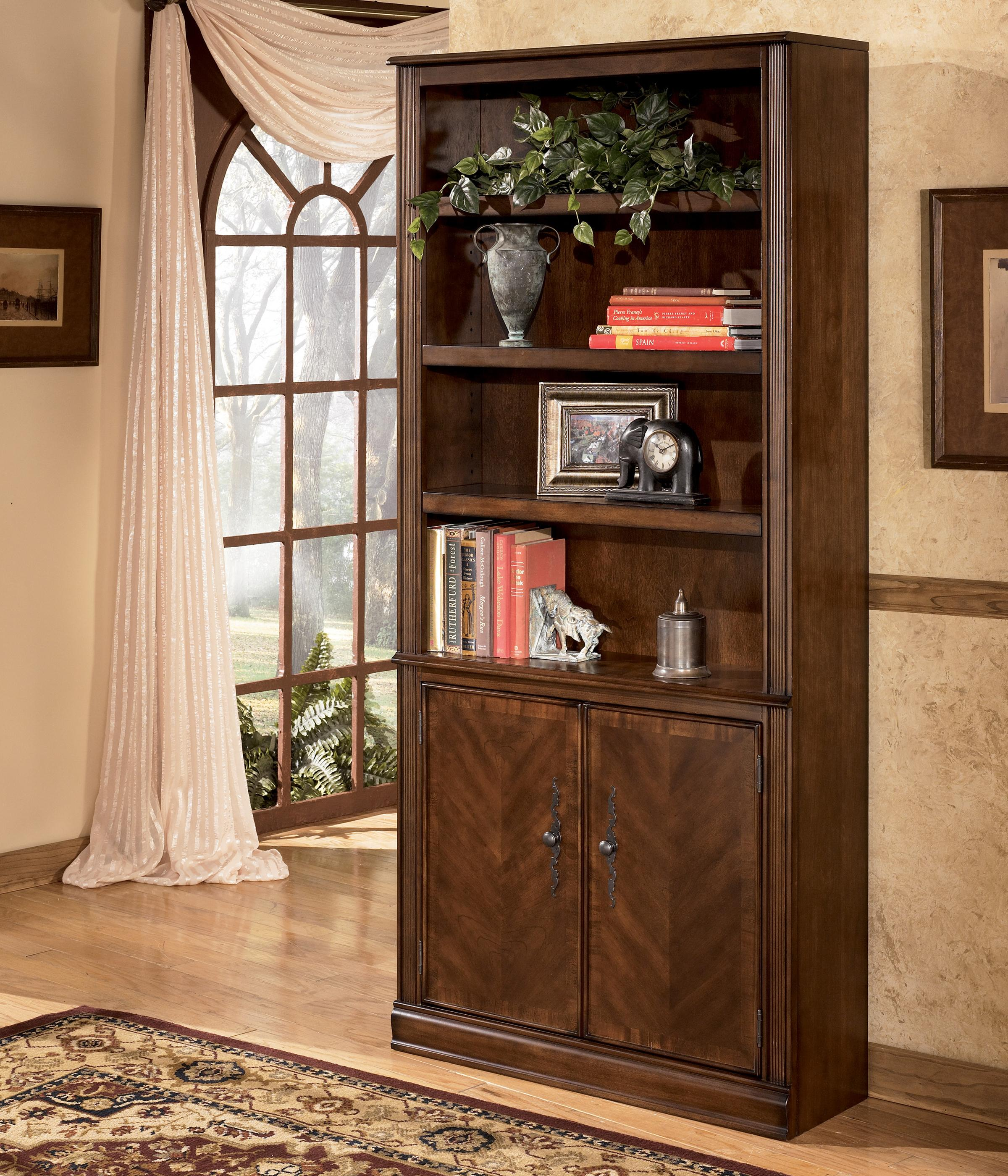 Hamlyn Large Door Bookcase by Signature Design by Ashley at Suburban Furniture