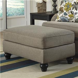 Ashley Furniture Hariston - Shitake Ottoman