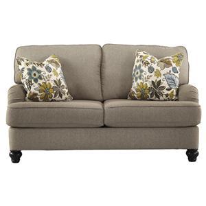 Ashley Furniture Hariston - Shitake Loveseat