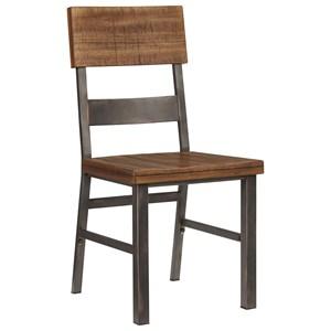 Urban Industrial Side Chair