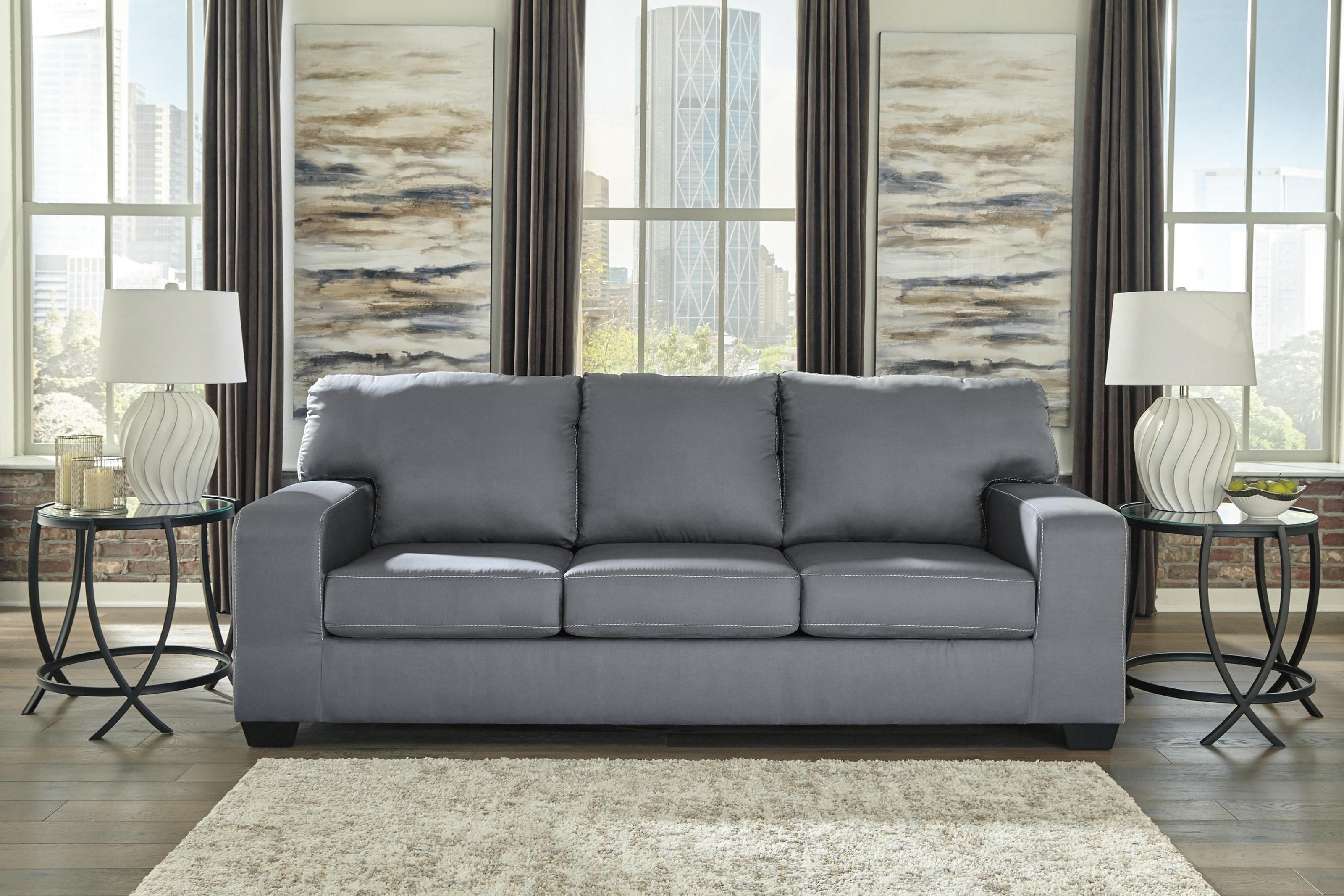 Kanosh Contemporary Sofa Sleeper by Ashley Furniture at Sam Levitz Furniture