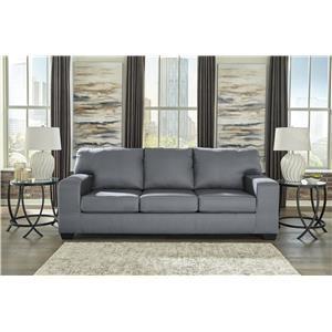 Contemporary Gray Sofa Sleeper