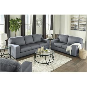 Steel Sofa and Chair Set