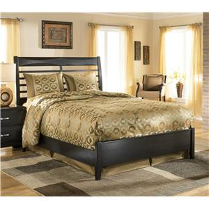 Ashley Furniture Kira King Panel Bed