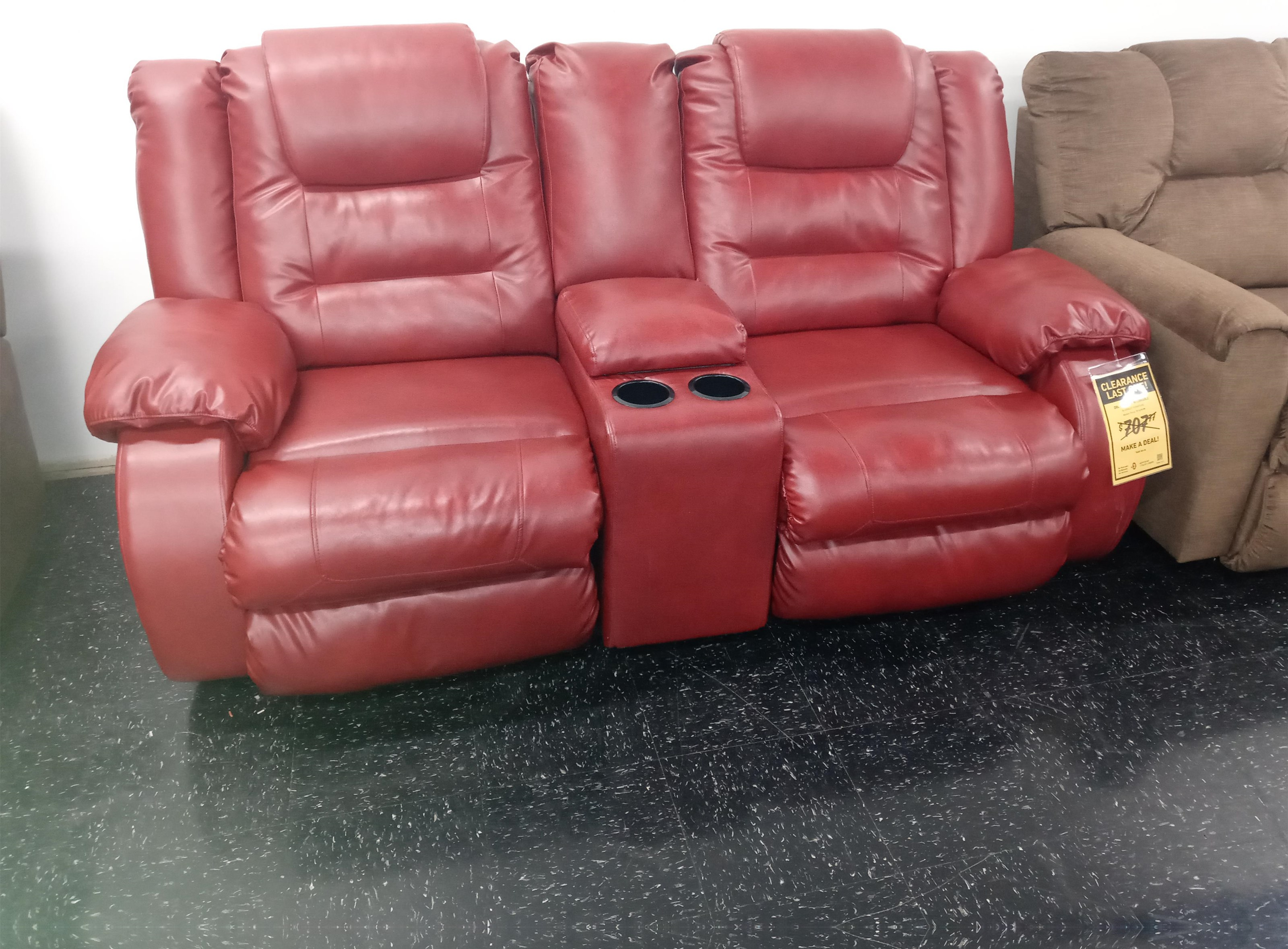 Last One Loveseat Last One! Reclining Loveseat! at Morris Home