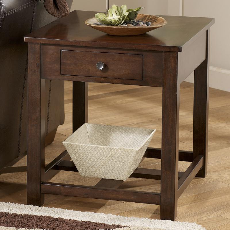 Marion Rectangular End Table by Signature Design by Ashley at Northeast Factory Direct