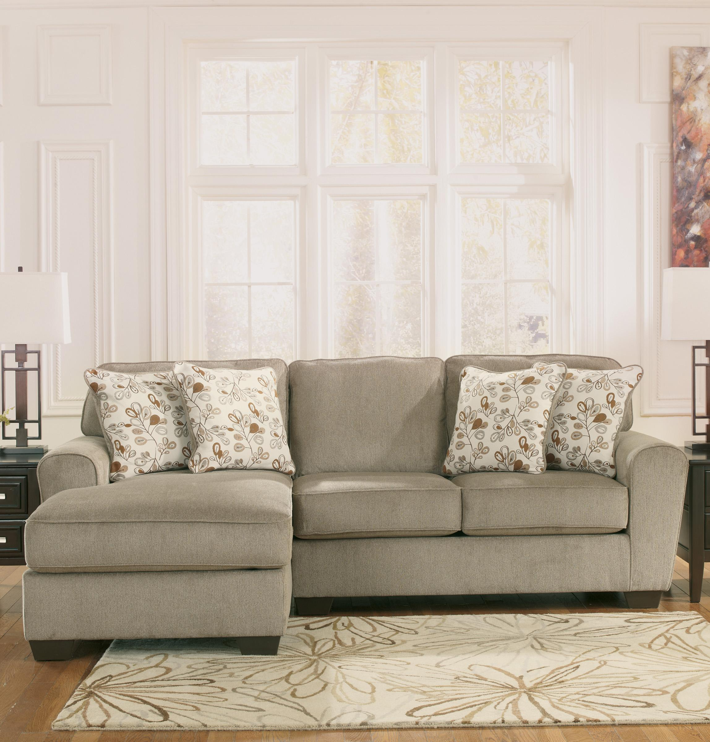 Patola Park - Patina 2-Piece Sectional with Left Chaise by Ashley Furniture at Lapeer Furniture & Mattress Center