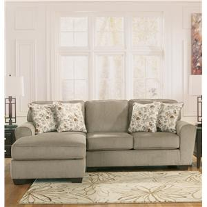 Ashley Furniture Patola Park - Patina 2-Piece Sectional with Left Chaise