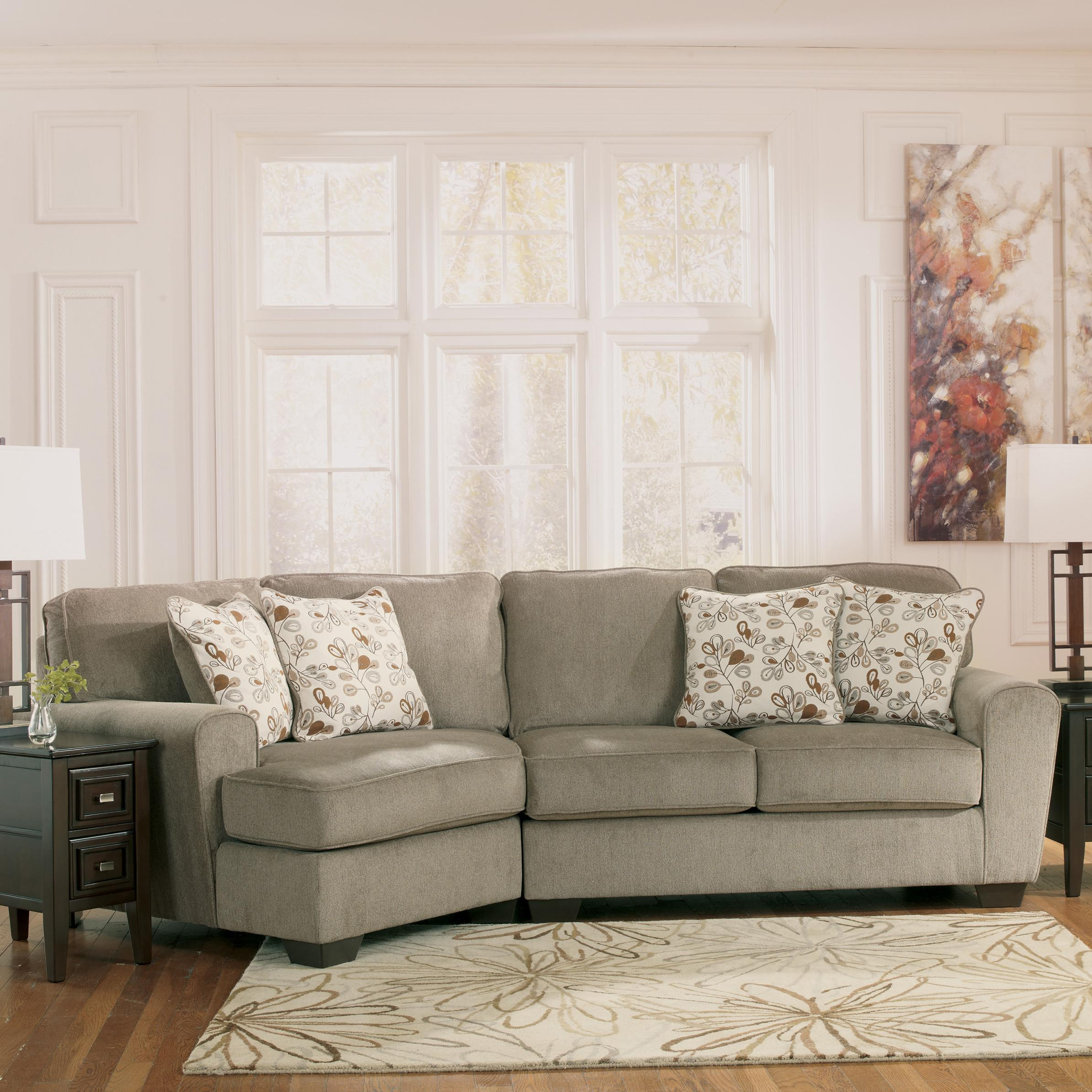 Patola Park - Patina 2-Piece Sectional with Left Cuddler by Ashley Furniture at Lapeer Furniture & Mattress Center