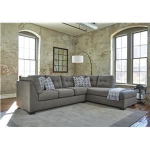 Slate 2 PC Sectional Set
