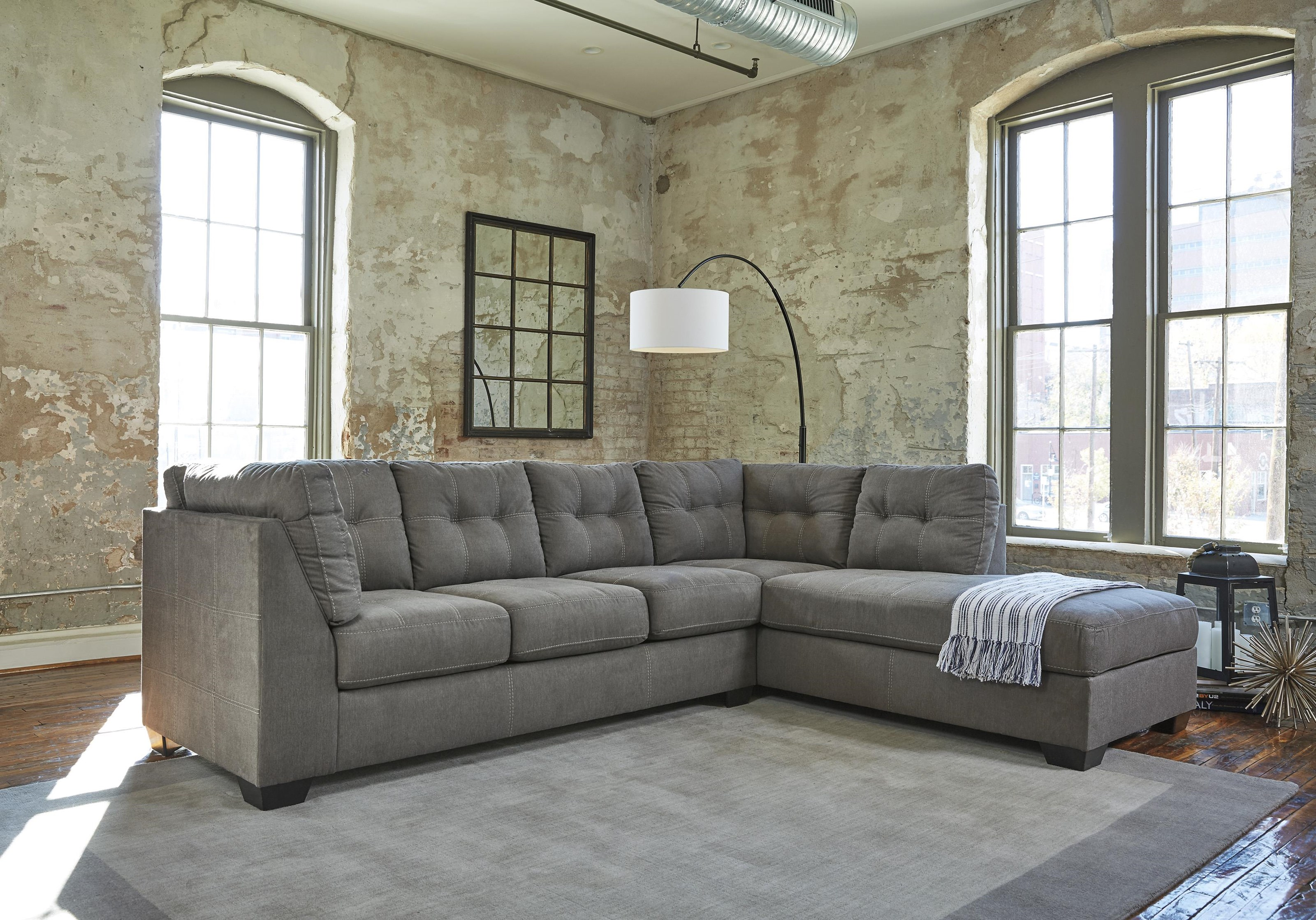 34727 Pitkin 2-Piece Sectional by Ashley Furniture at Furniture and ApplianceMart