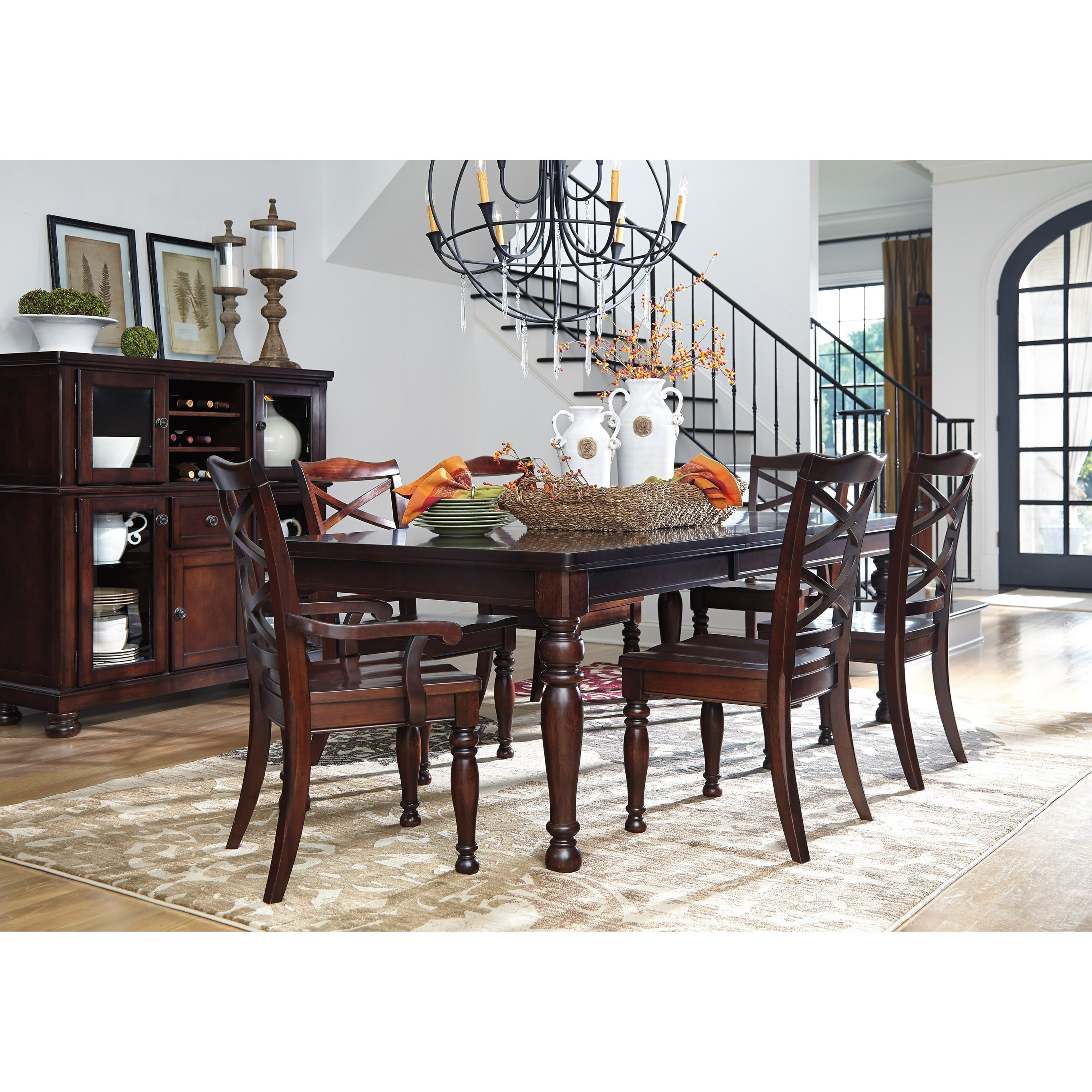 Porter Formal Dining Room Group by Ashley Furniture at Van Hill Furniture