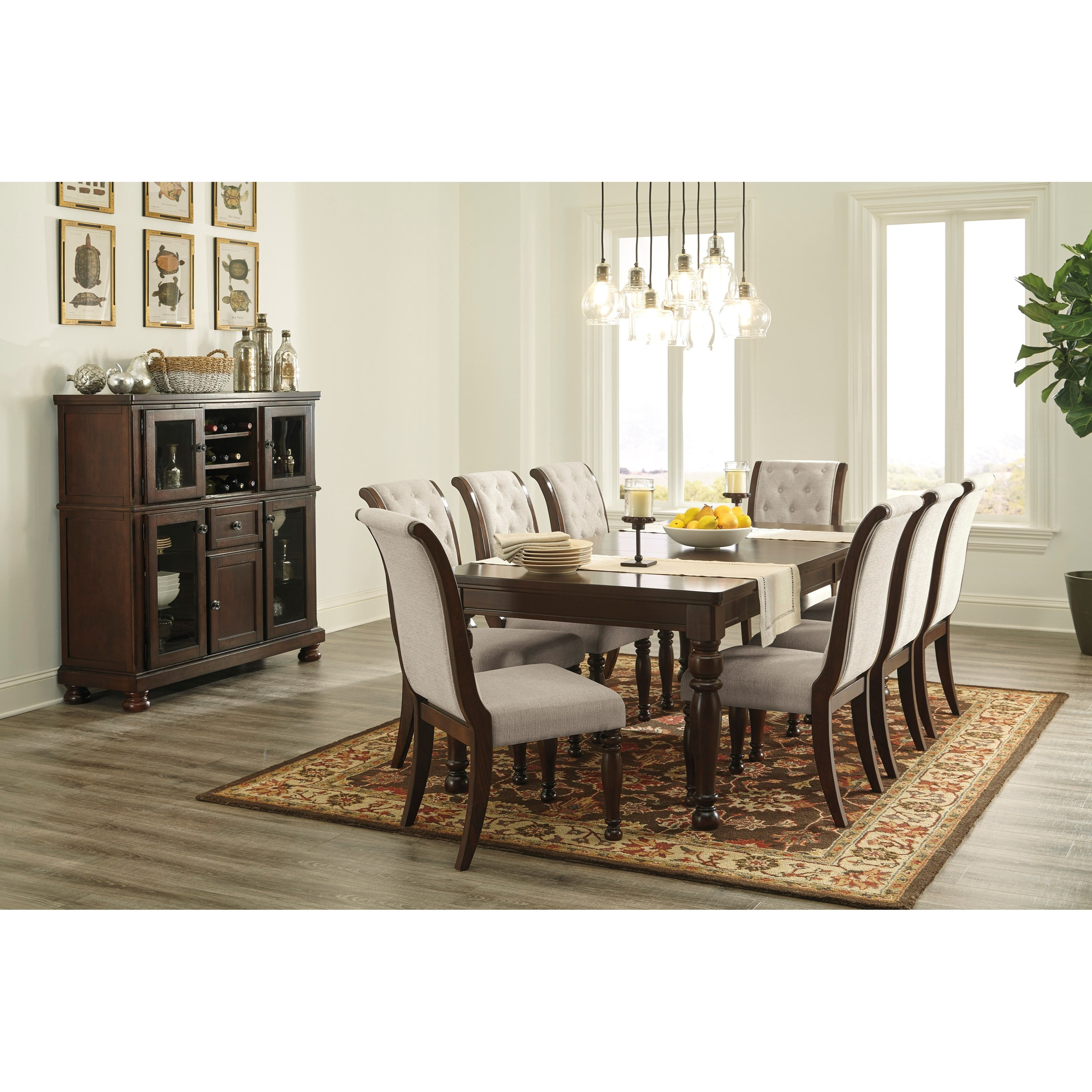 Porter Formal Dining Room Group by Ashley Furniture at Lapeer Furniture & Mattress Center