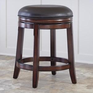 Upholstered Swivel Stool