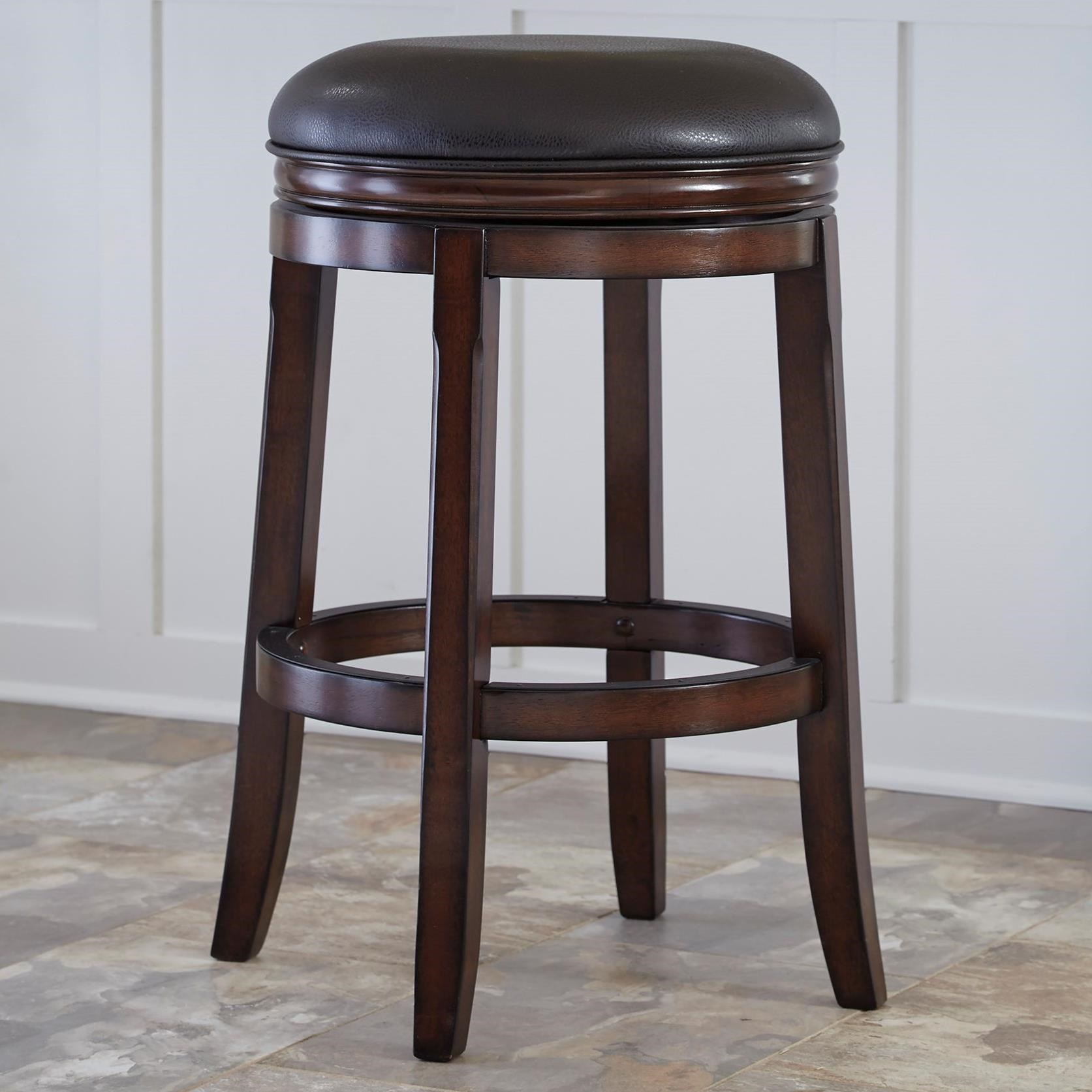 Porter Tall Upholstered Swivel Stool by Millennium at Beck's Furniture