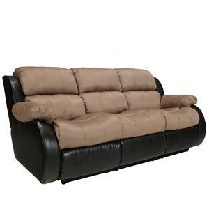 Ashley Furniture Presley - Cocoa Reclining Sofa