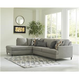 Granite 2 Piece Sofa Chaise Sectional
