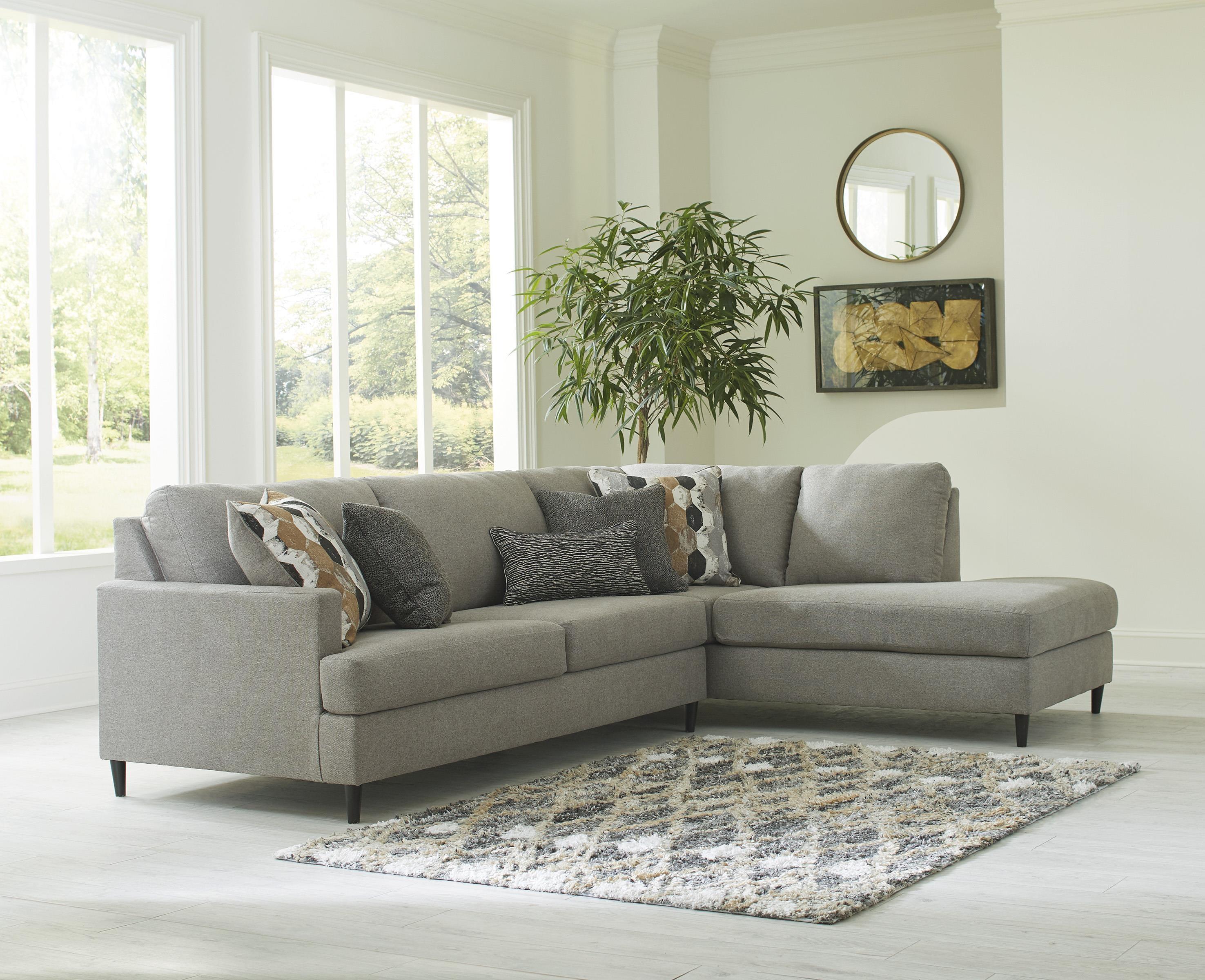 Santasia 2 Piece Sofa Chaise Sectional by Ashley Furniture at Sam Levitz Furniture