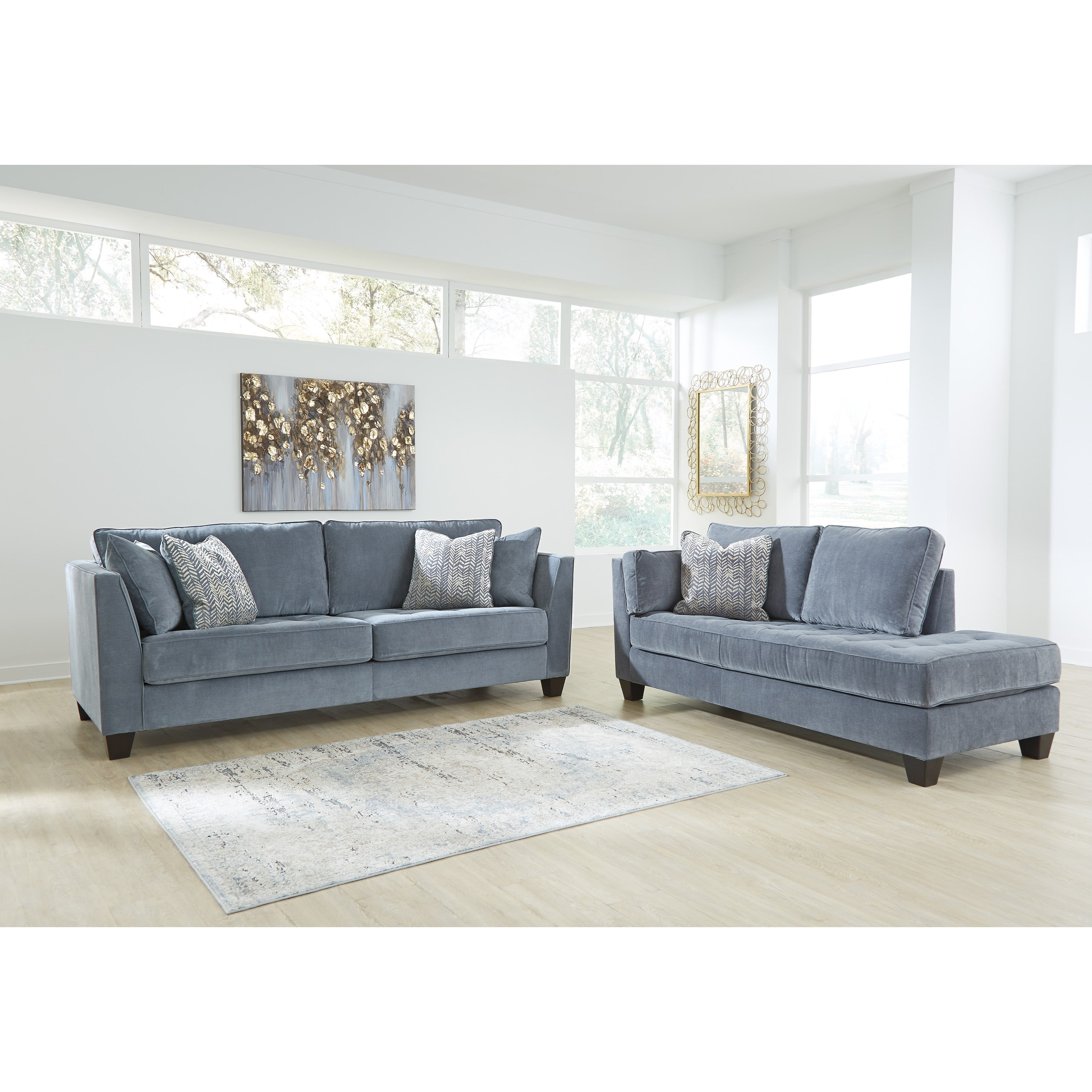 Sciolo Stationary Living Room Group by Ashley Furniture at Lucas Furniture & Mattress
