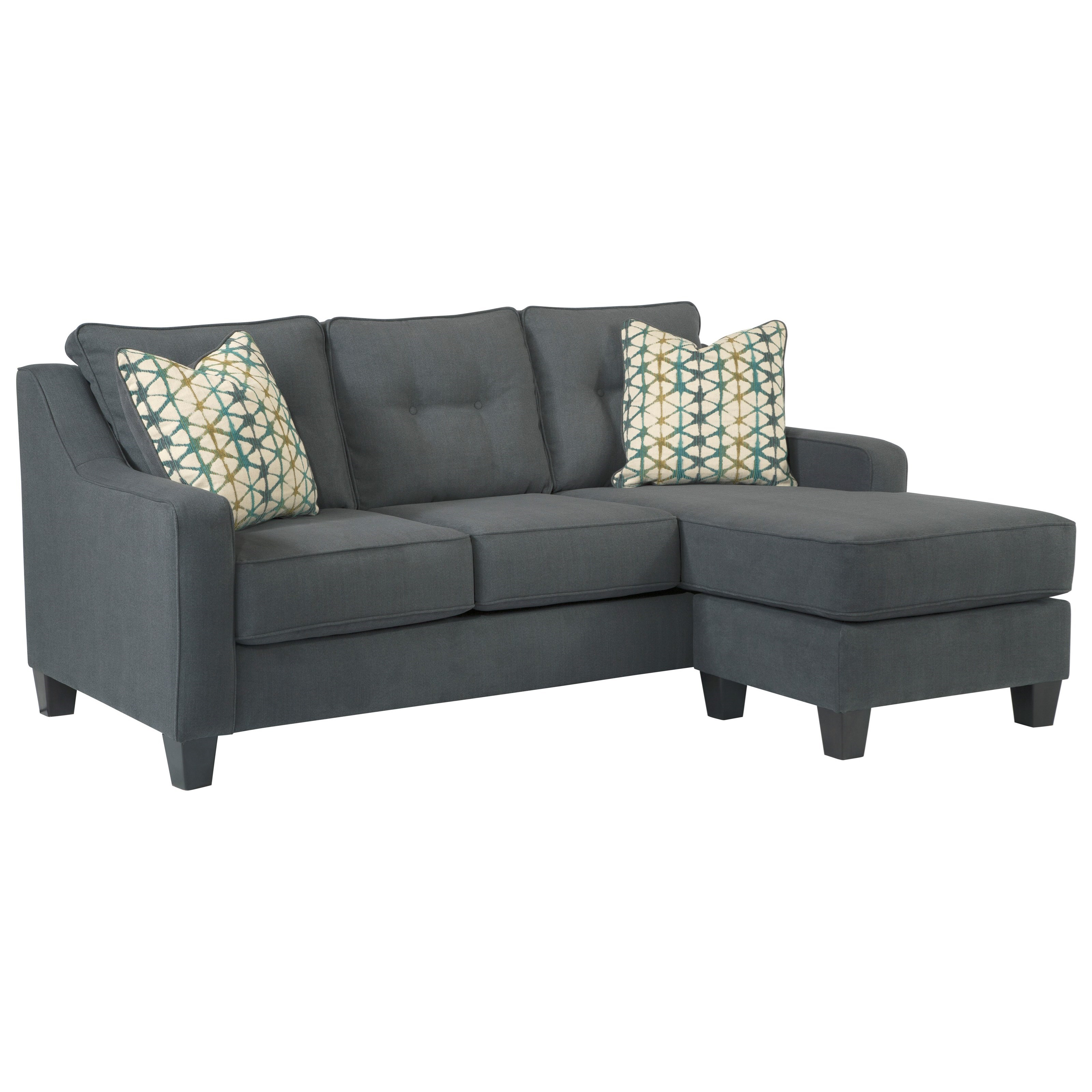 Shayla Sofa Chaise by Ashley Furniture at Lapeer Furniture & Mattress Center