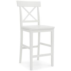 """24"""" Counter Height Stool with Back"""