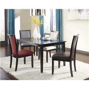 Ashley Furniture Trishelle 5-Piece Rectangular Dining Table Set