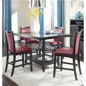 Ashley Furniture Trishelle 5-Piece Counter Table Set