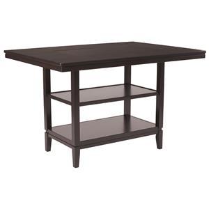 Ashley Furniture Trishelle Rectangular Dining Room Counter Table