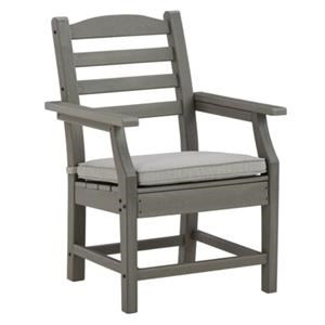 Outdoor Dining Arm Chair with Cushion